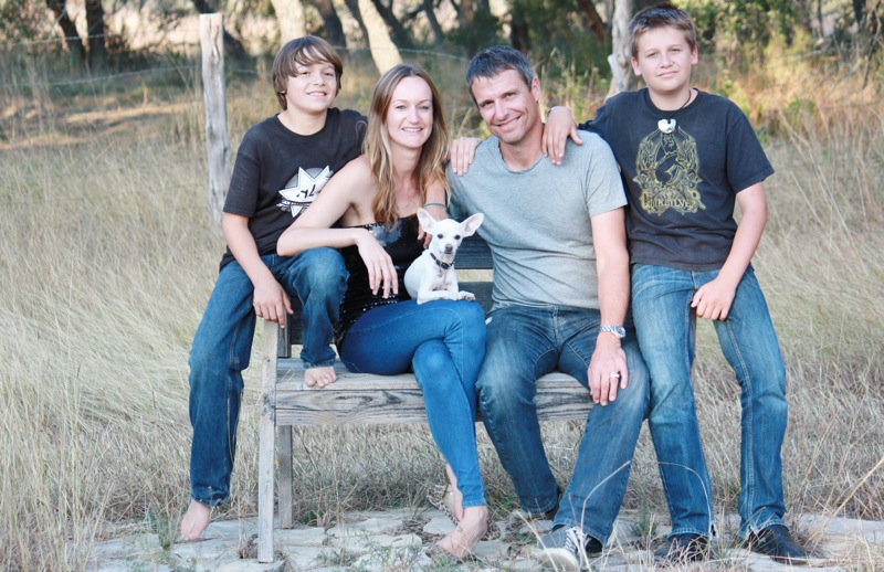 La familia Johnson: una vida sin residuos es posible
