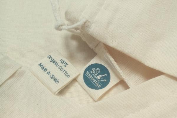 Bolsa granel de algodon
