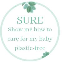Plastic free baby bath