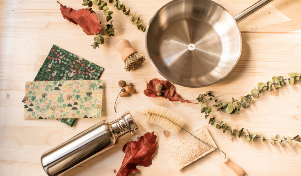 cocina sin plástico