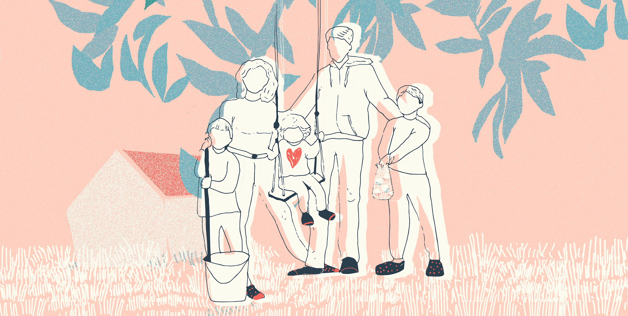 Familia campo